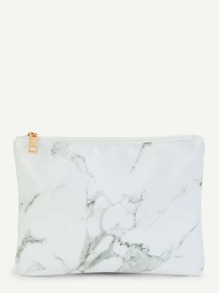 Marble Pattern Pouch