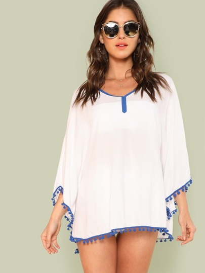 Pom Pom Hem Cover Up
