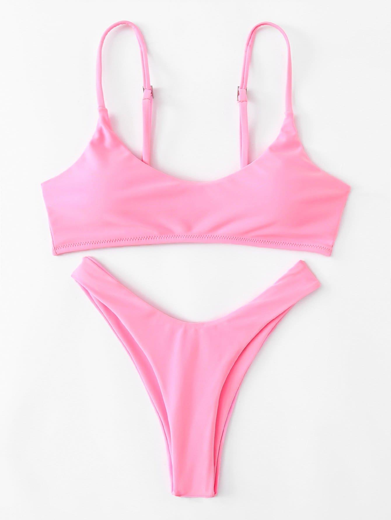 High Leg Bikini Set сетка fit 38115