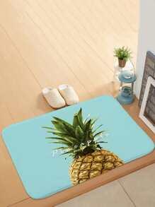 3D Pineapple Print Door Mat