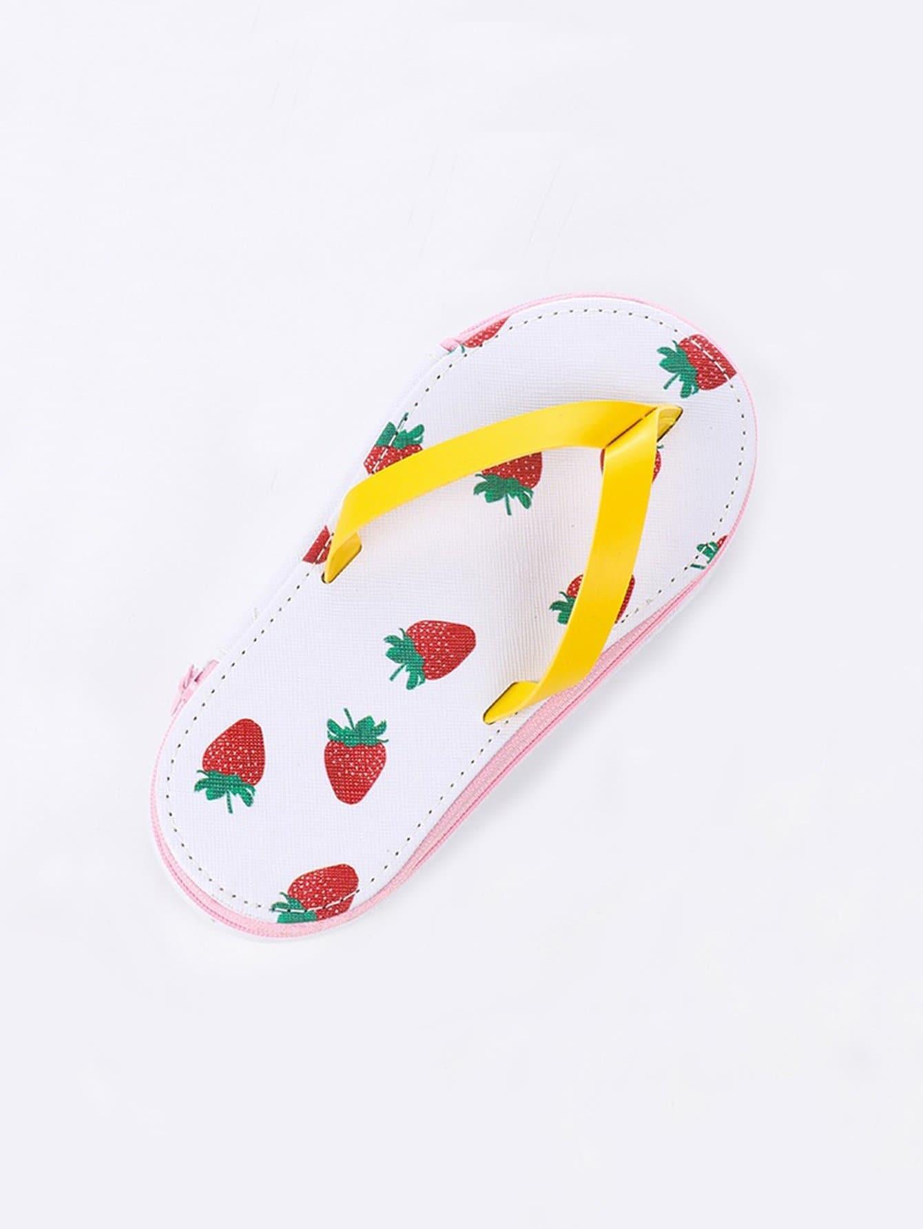 Flip Flop Shaped Stationery Box 1pc flip flop домашние туфли
