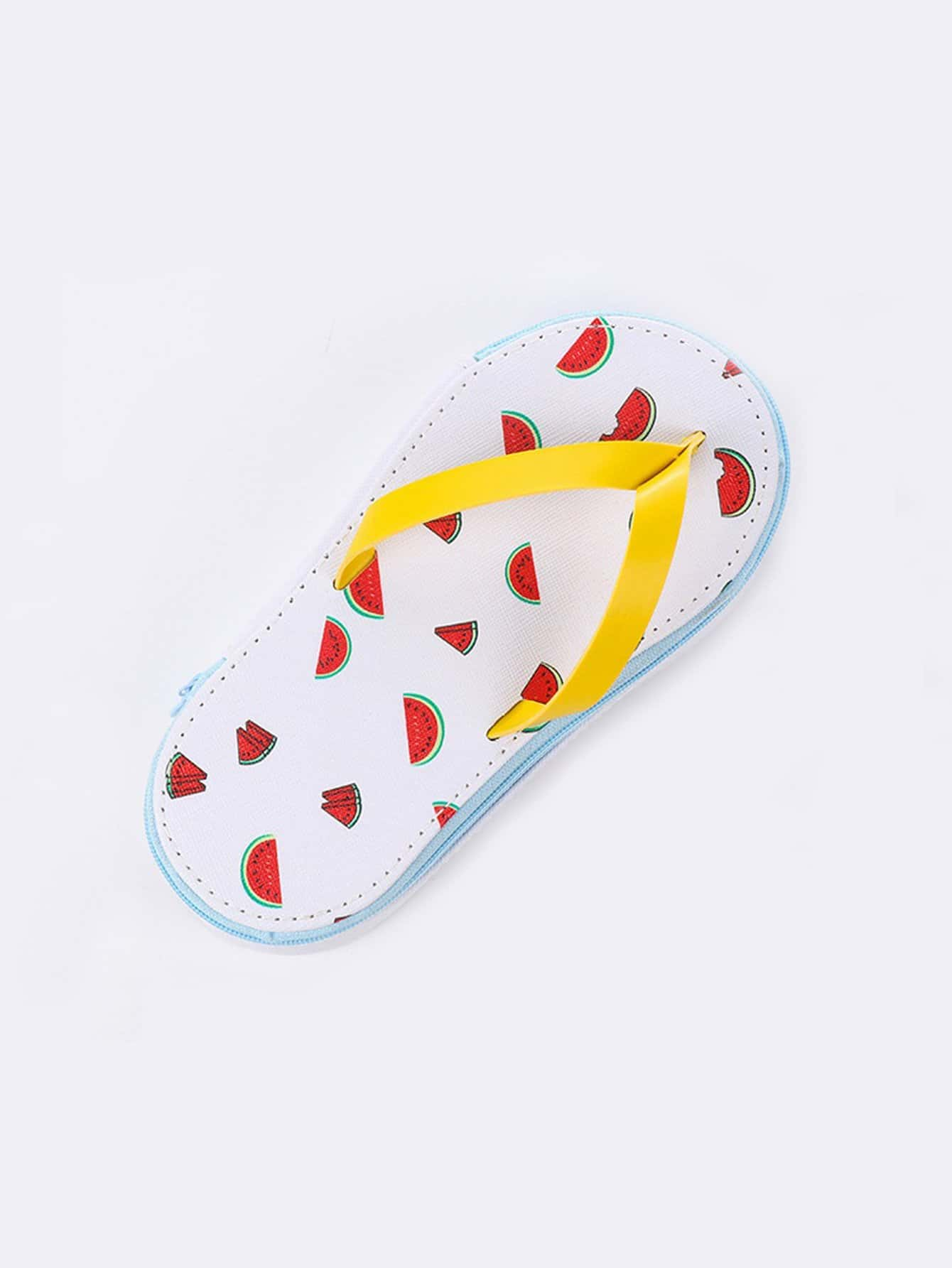 Flip Flop Shaped Stationery Box 1pc flip flop