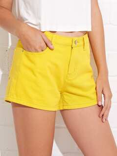 5-Pocket Denim Shorts
