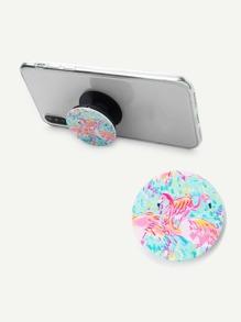 Flamingo Pattern Multi-Functional Phone Holder
