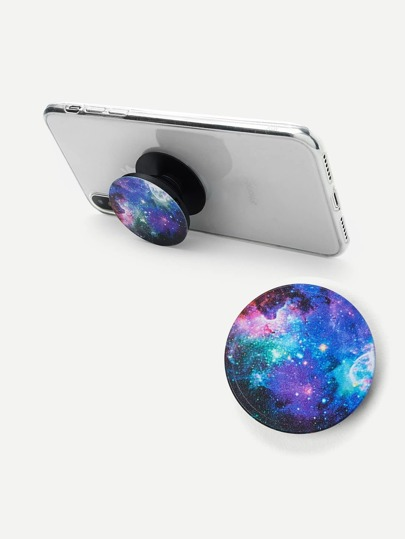 Galaxy Pattern Portable Phone Holder