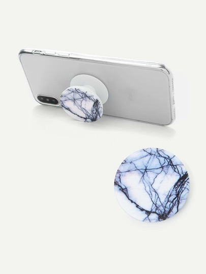 Marble Pattern Portable Phone Holder