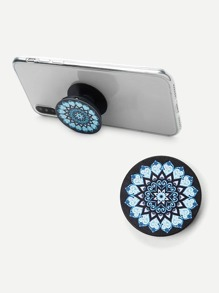 Contrast Round Durable Phone Holder