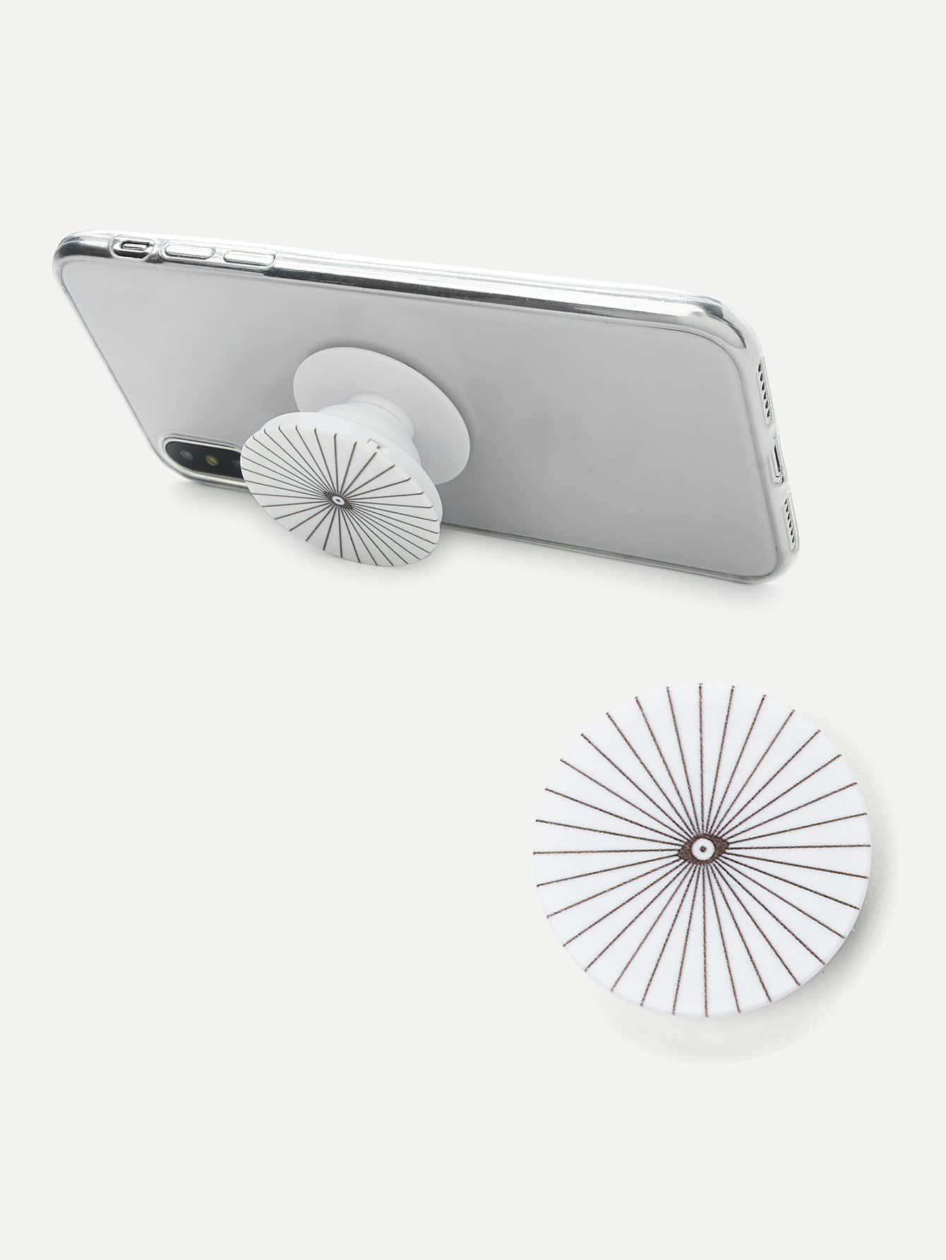 все цены на Eye Pattern Round Durable Phone Holder