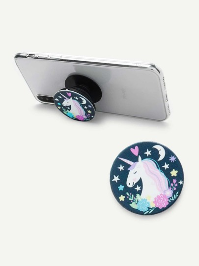 Cartoon Unicorn Gasbag Phone Holder