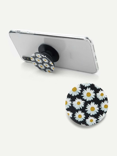 Daisy Print Gasbag Phone Holder