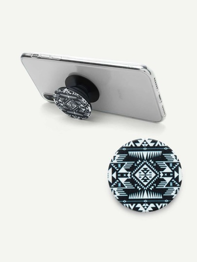 Aztec Print Gasbag Phone Holder