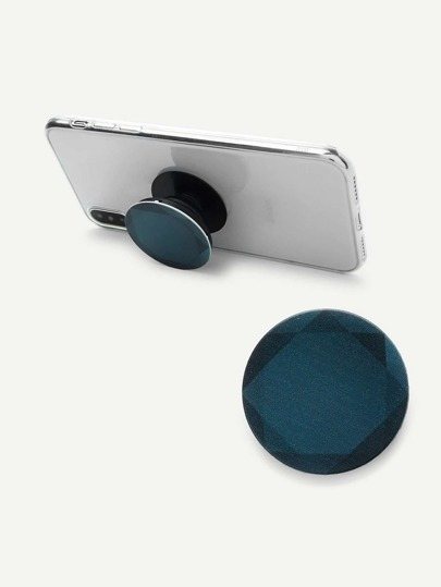 Diamond Pattern Round Gasbag Phone Holder