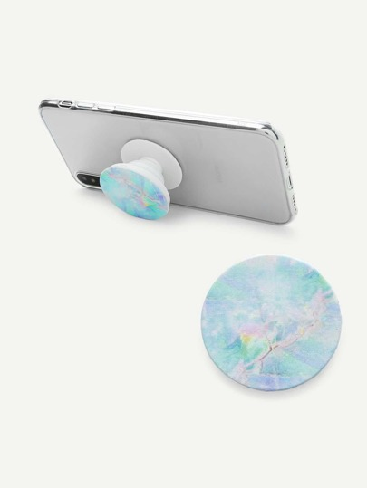Marble Pattern Gasbag Phone Holder
