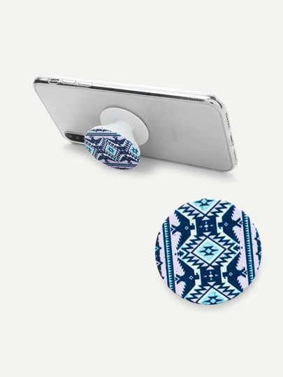 Aztec Pattern Phone Gasbag Phone Holder