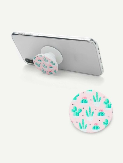 Cactus Print Gasbag Phone Holder