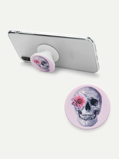 Skeleton Pattern Gasbag Phone Holder