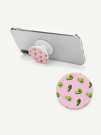 Avocado Pattern Gasbag Phone Holder