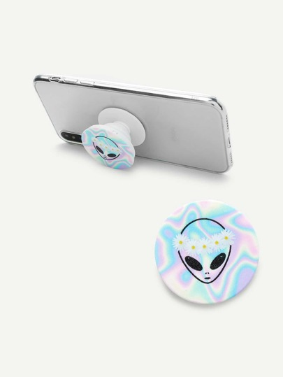 Iridescent Alien Gasbag Phone Holder