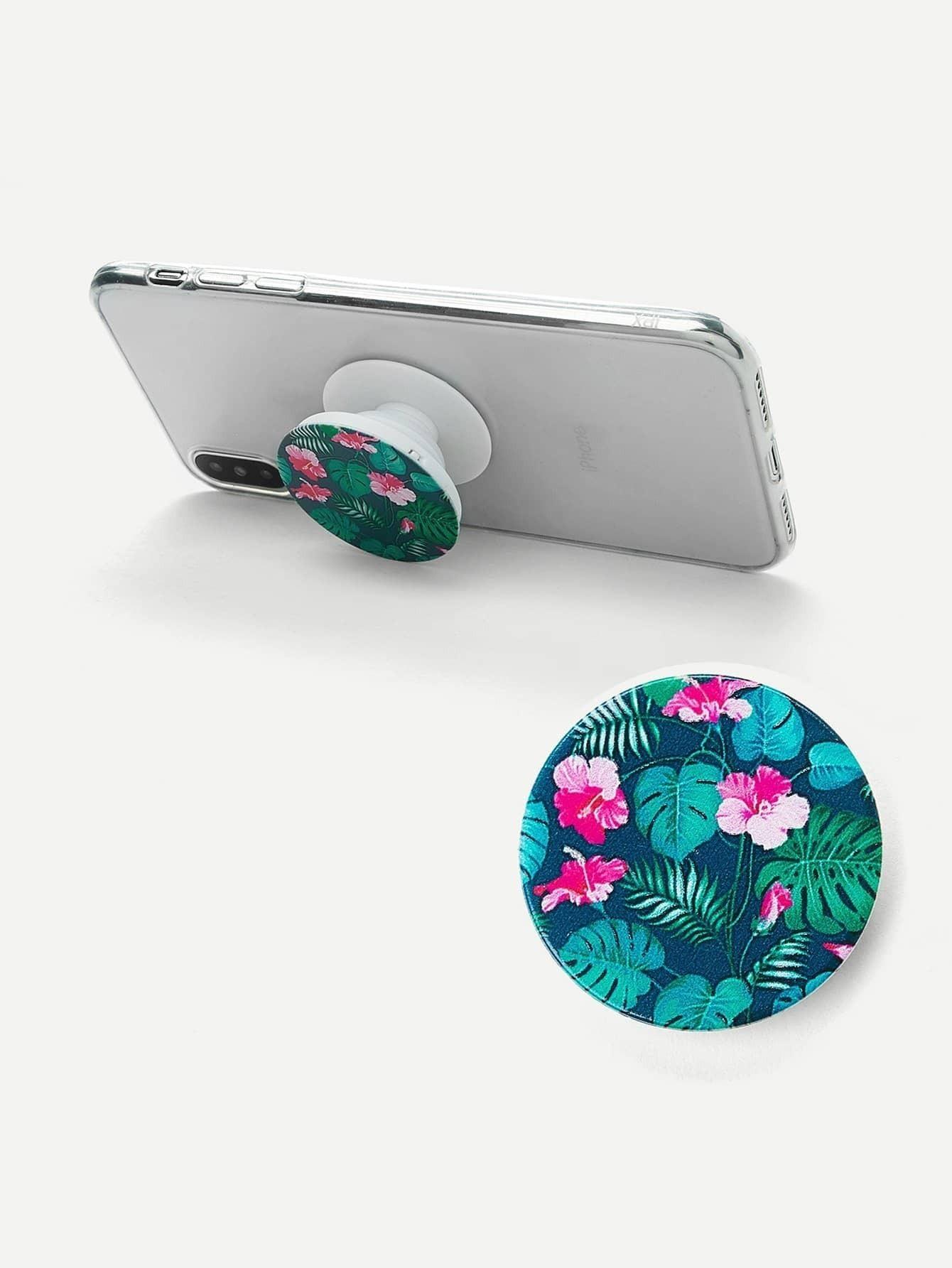 Модная портативная подставка для мобильного телефона с принтом