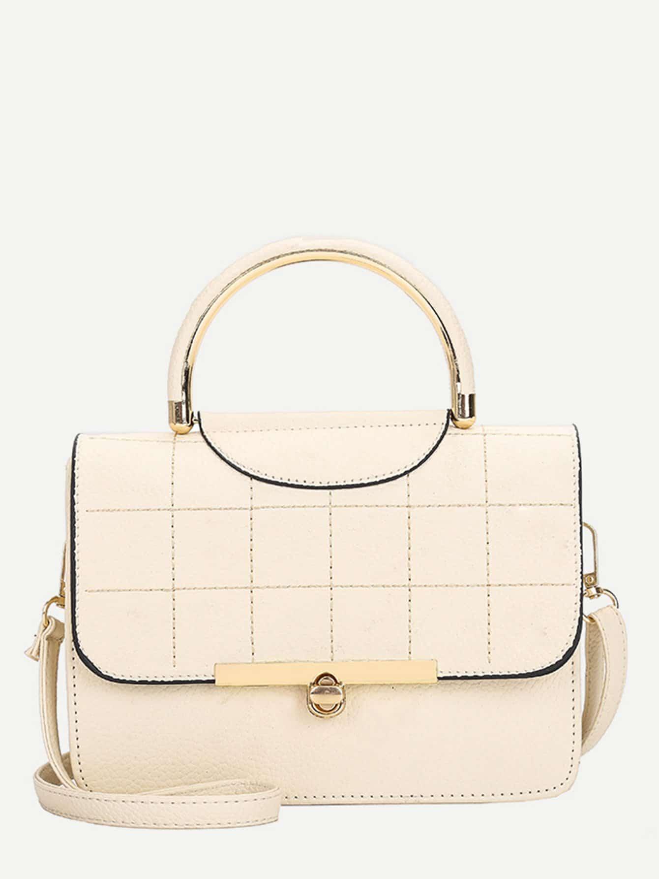Seam Detail Pebble Grab Bag платье seam seam mp002xw18uic