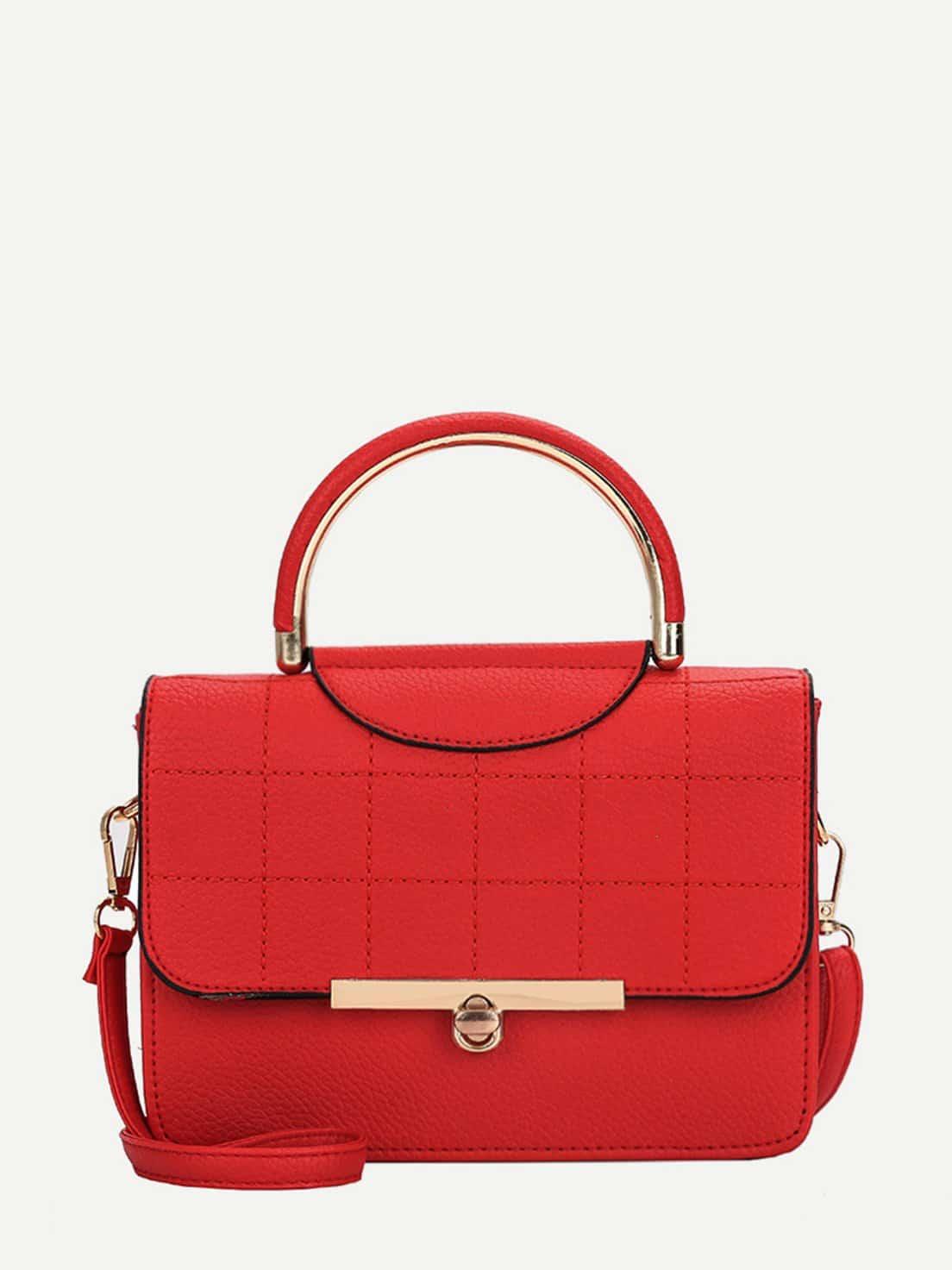 Seam Detail Pebble Grab Bag платье seam seam mp002xw18ui0