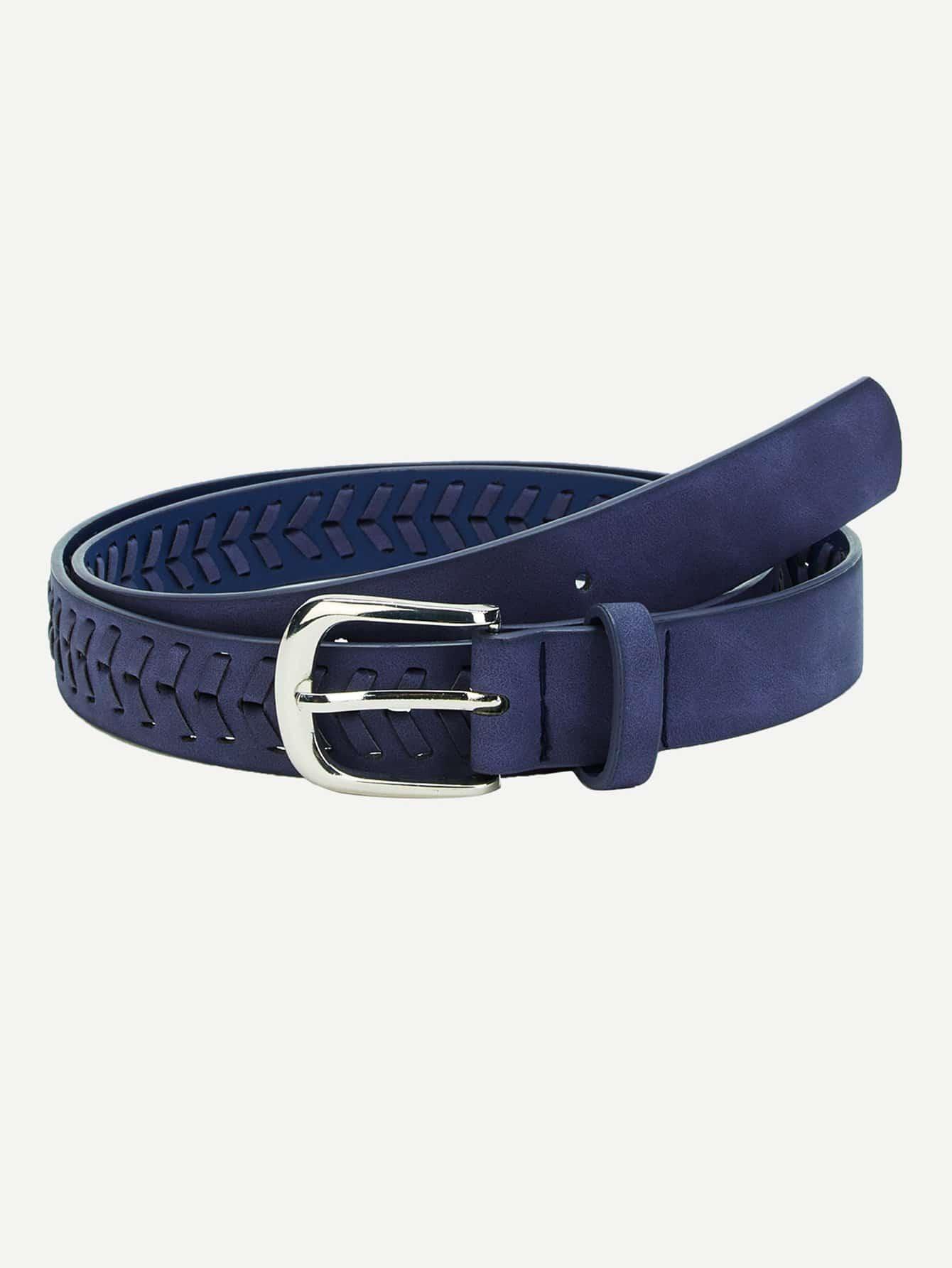 Metal Buckle Braided Belt belt cp v2 metal