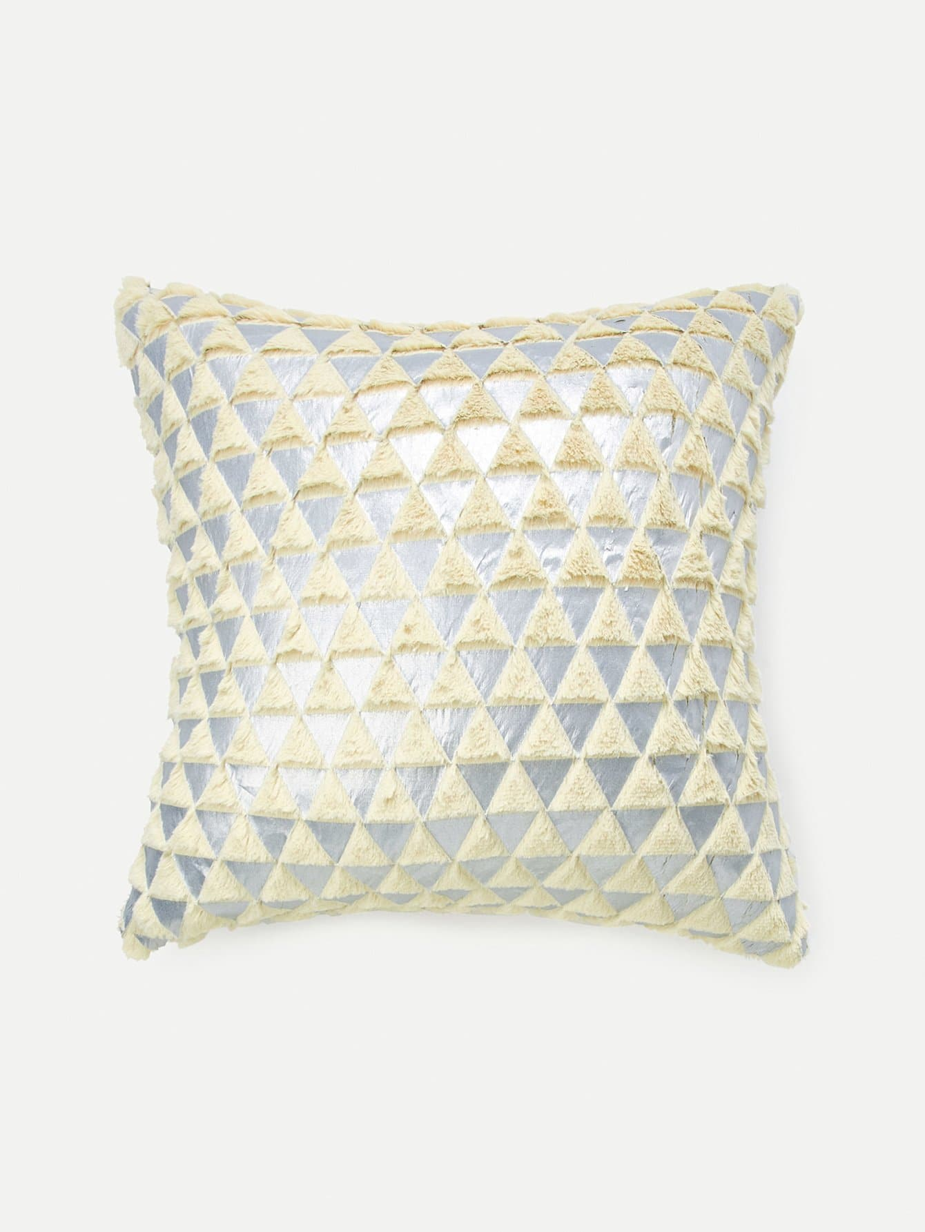 Triangle Pattern Pillow Cover triangle pattern pillow cover