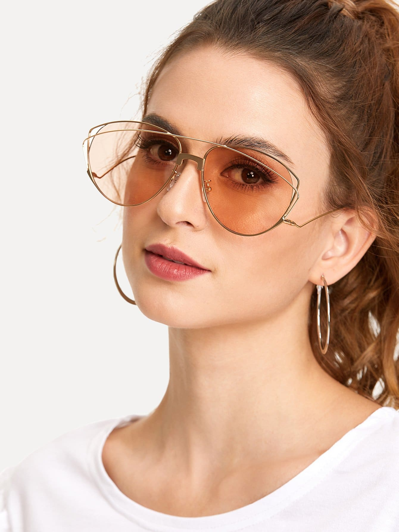 Transparent Computer Glasses Clear Fashion Eyeglasses Fake 84