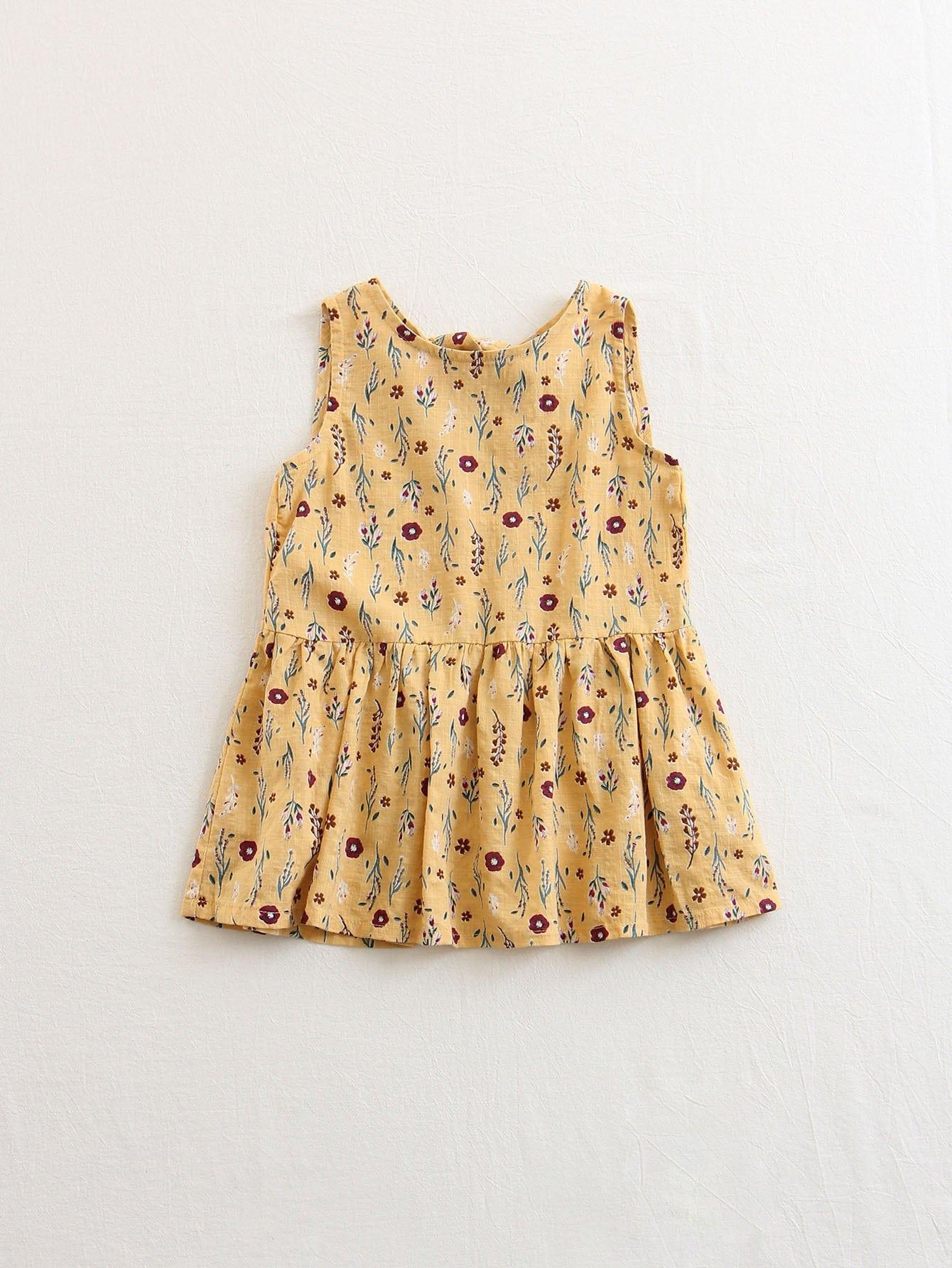 Купить Платье в цветочек для детей, null, SheIn