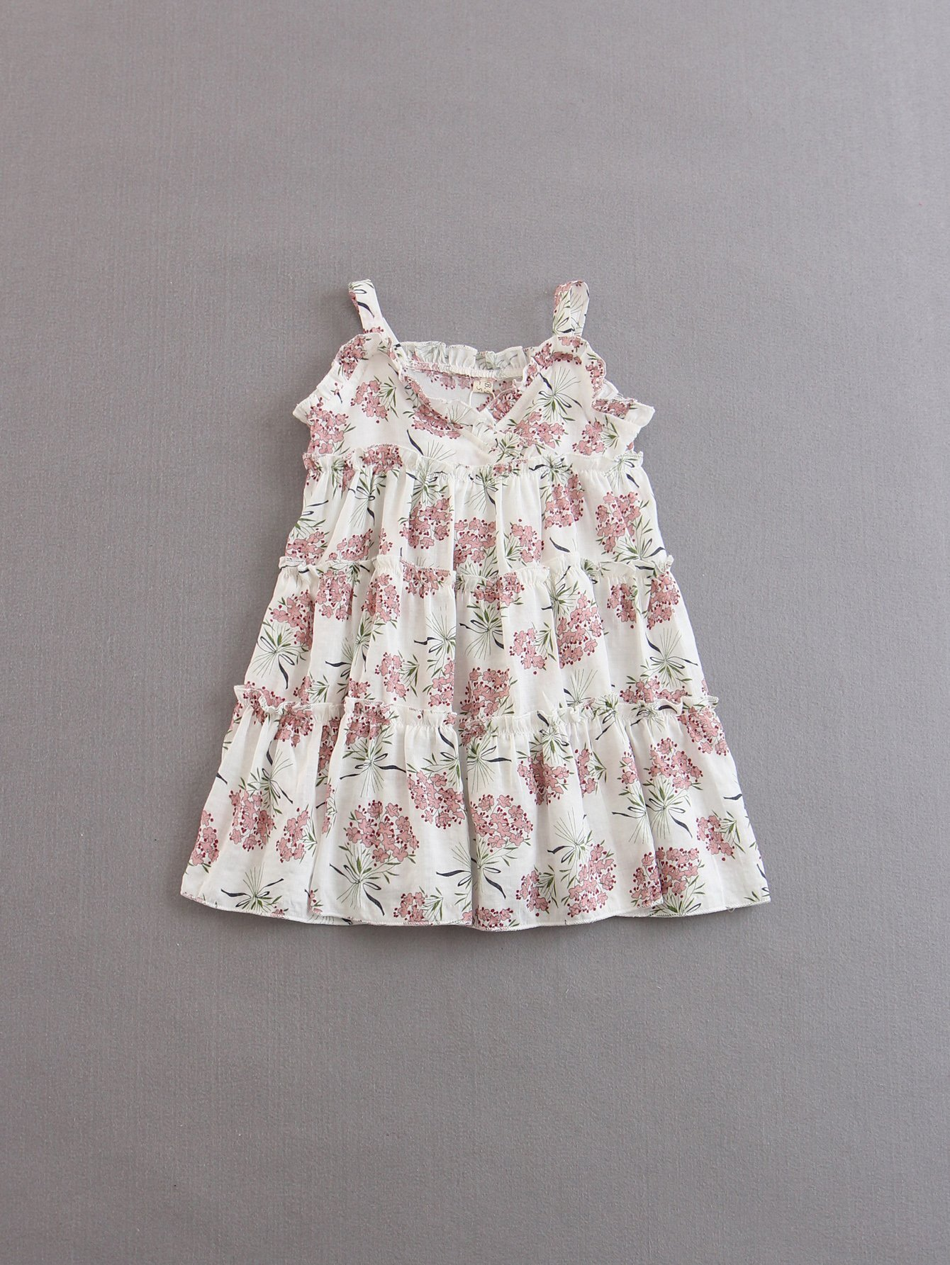 Kids Floral Frill Slip Dress kids floral frill slip dress