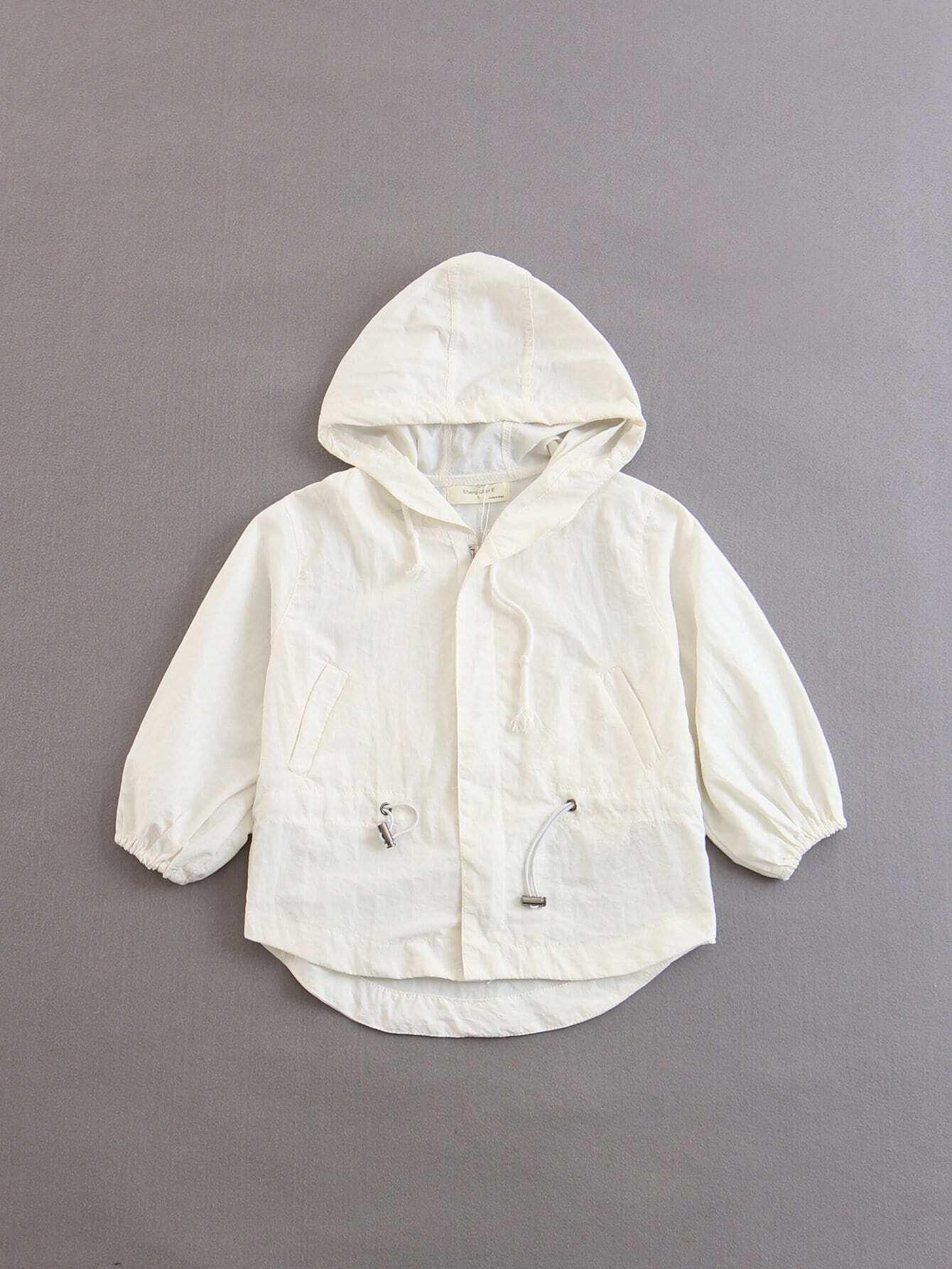 Kids Drawstring Hoodie Jacket kids drawstring hoodie jacket