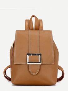 Buckle Flap Backpack