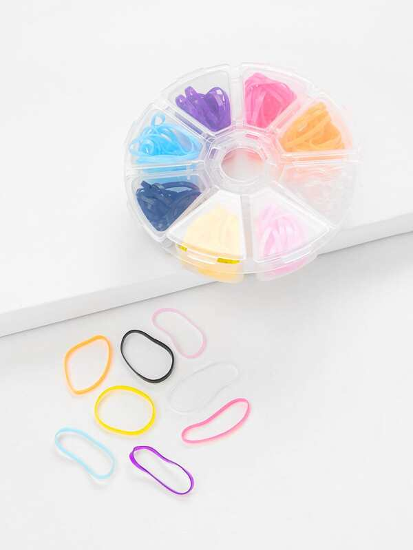 Mixed Color Hair Tie Set by Sheinside