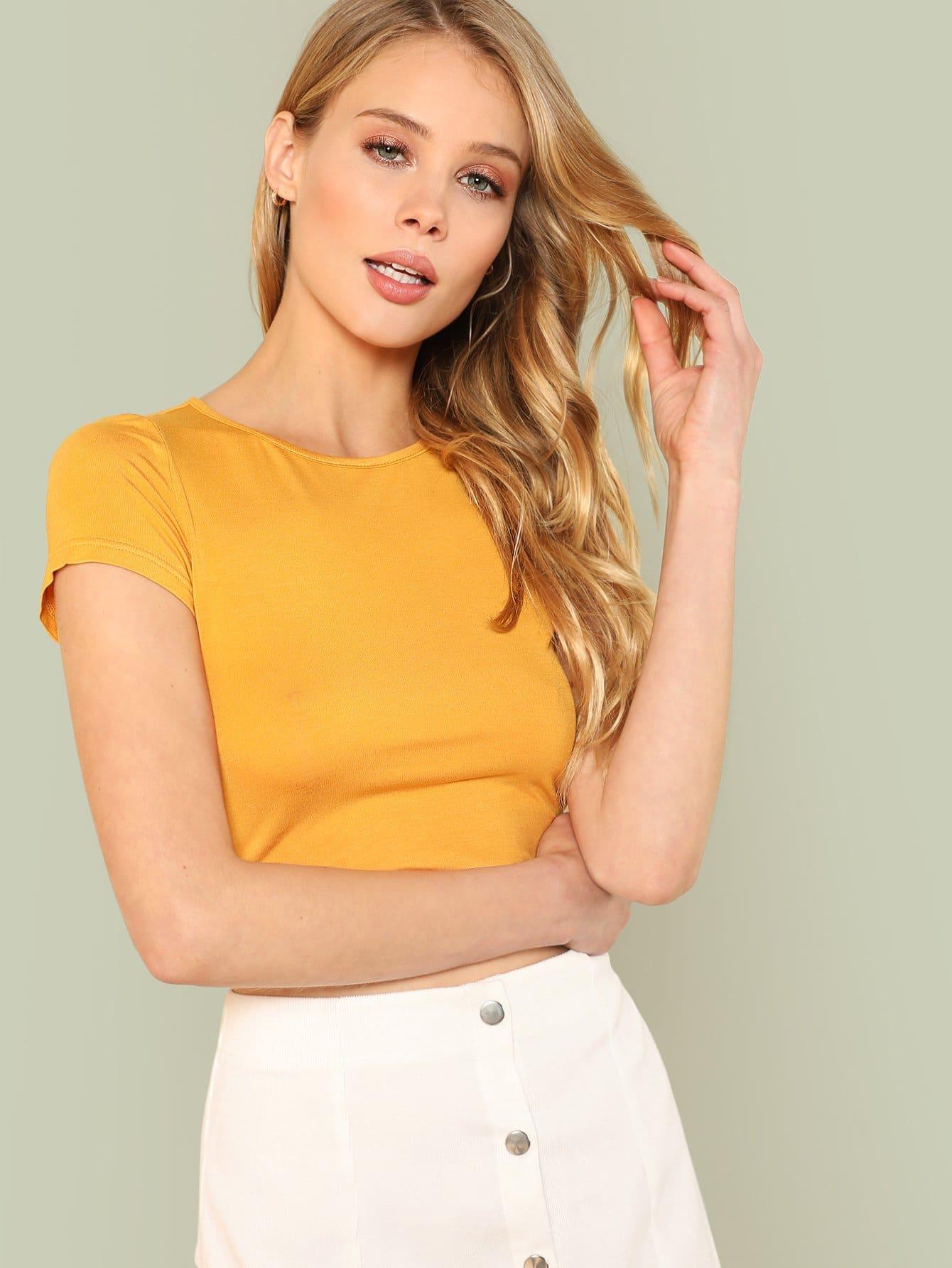 Slim Fit Crop Tee футболка wearcraft premium slim fit printio avengers