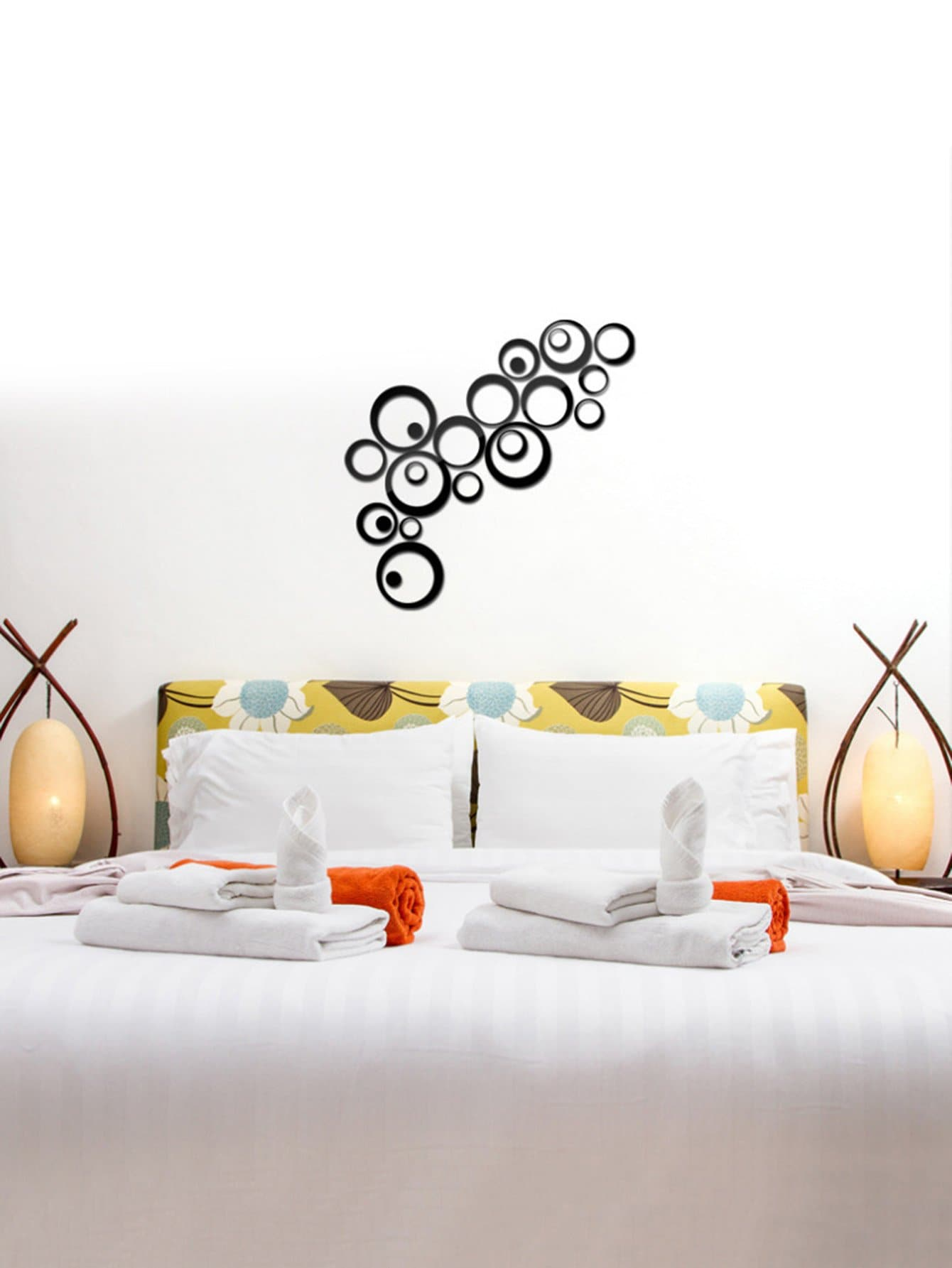 Wall mirrors stickers