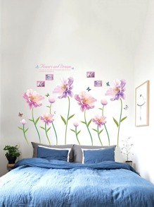 Floral Pattern Wall Decal