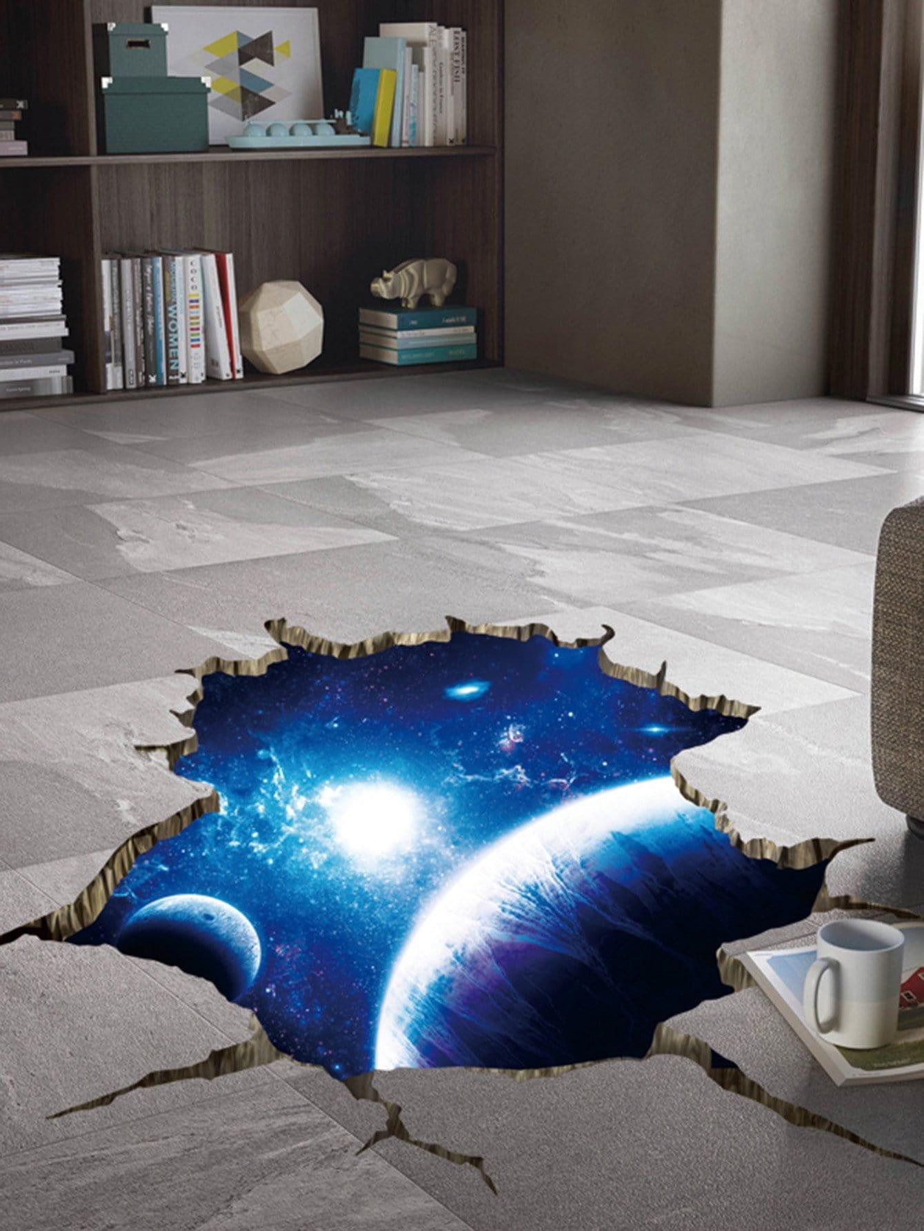 Купить Космическое пространство планеты стены стикер, null, SheIn