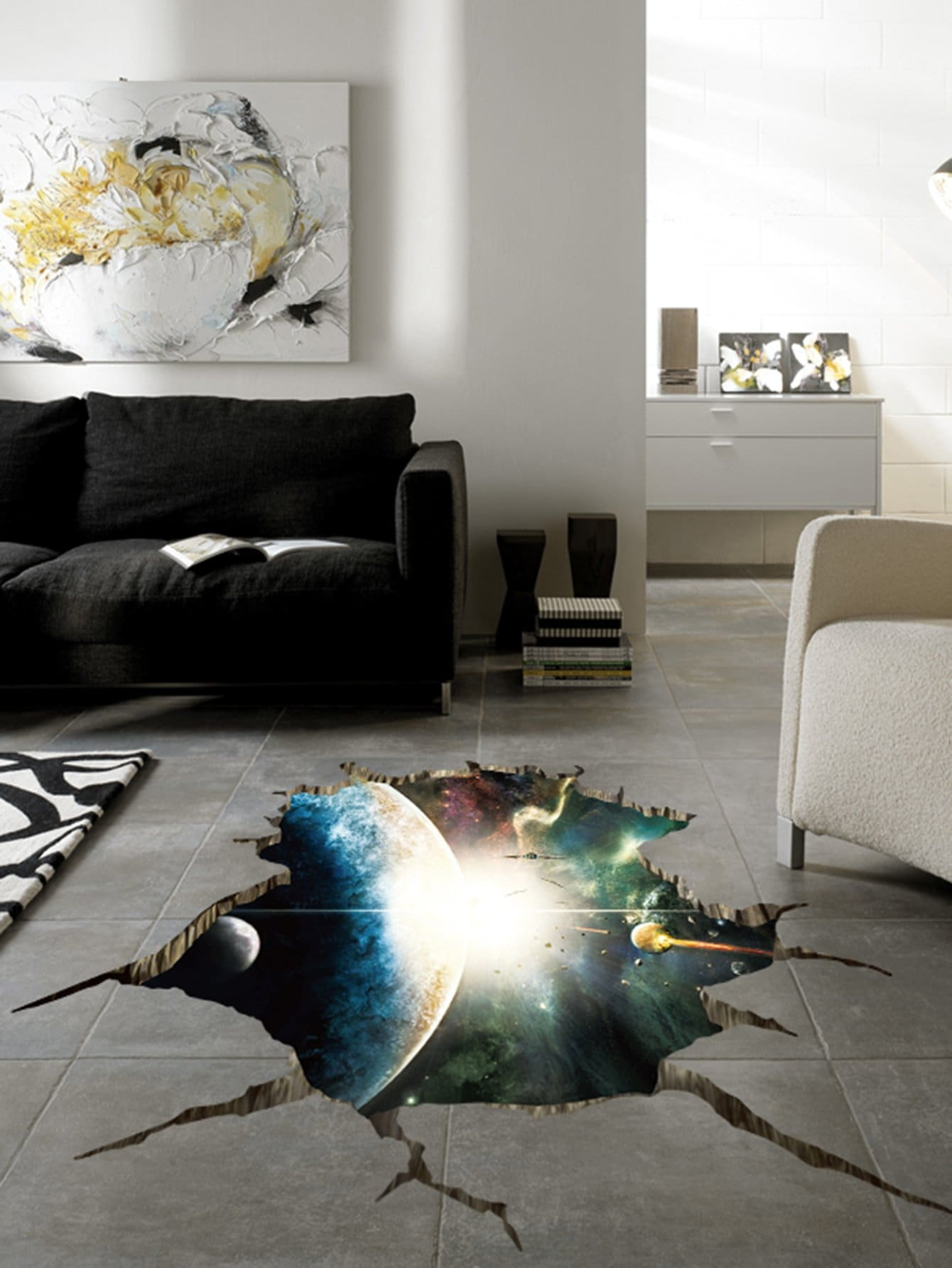 Outer Space Planets Wall Sticker planets