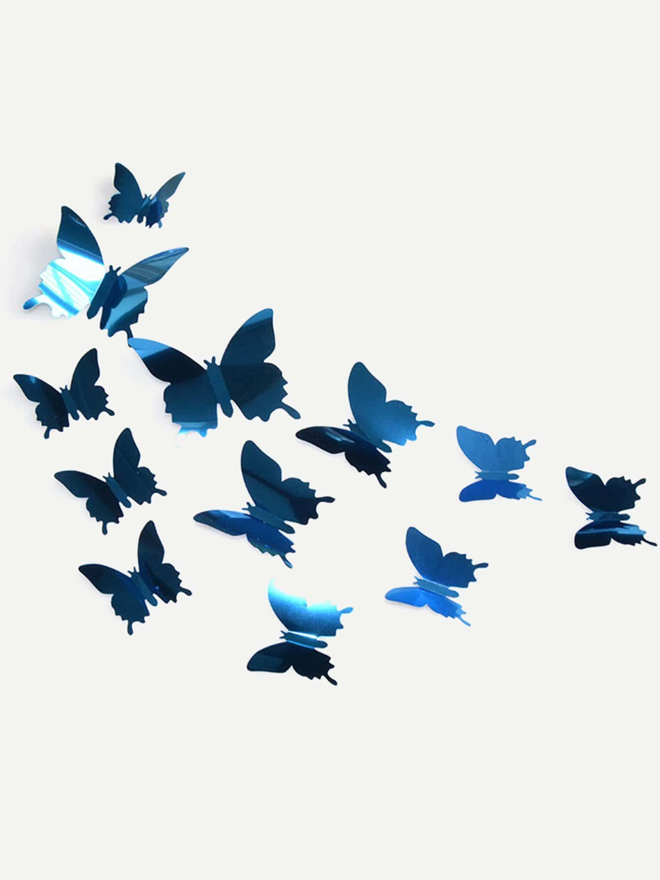 12Pcs 3D Stereoscopic Butterfly Wall Sticker