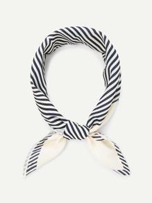 Striped Pattern Bandana