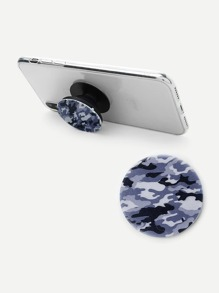Camouflage Print Durable Phone Holder