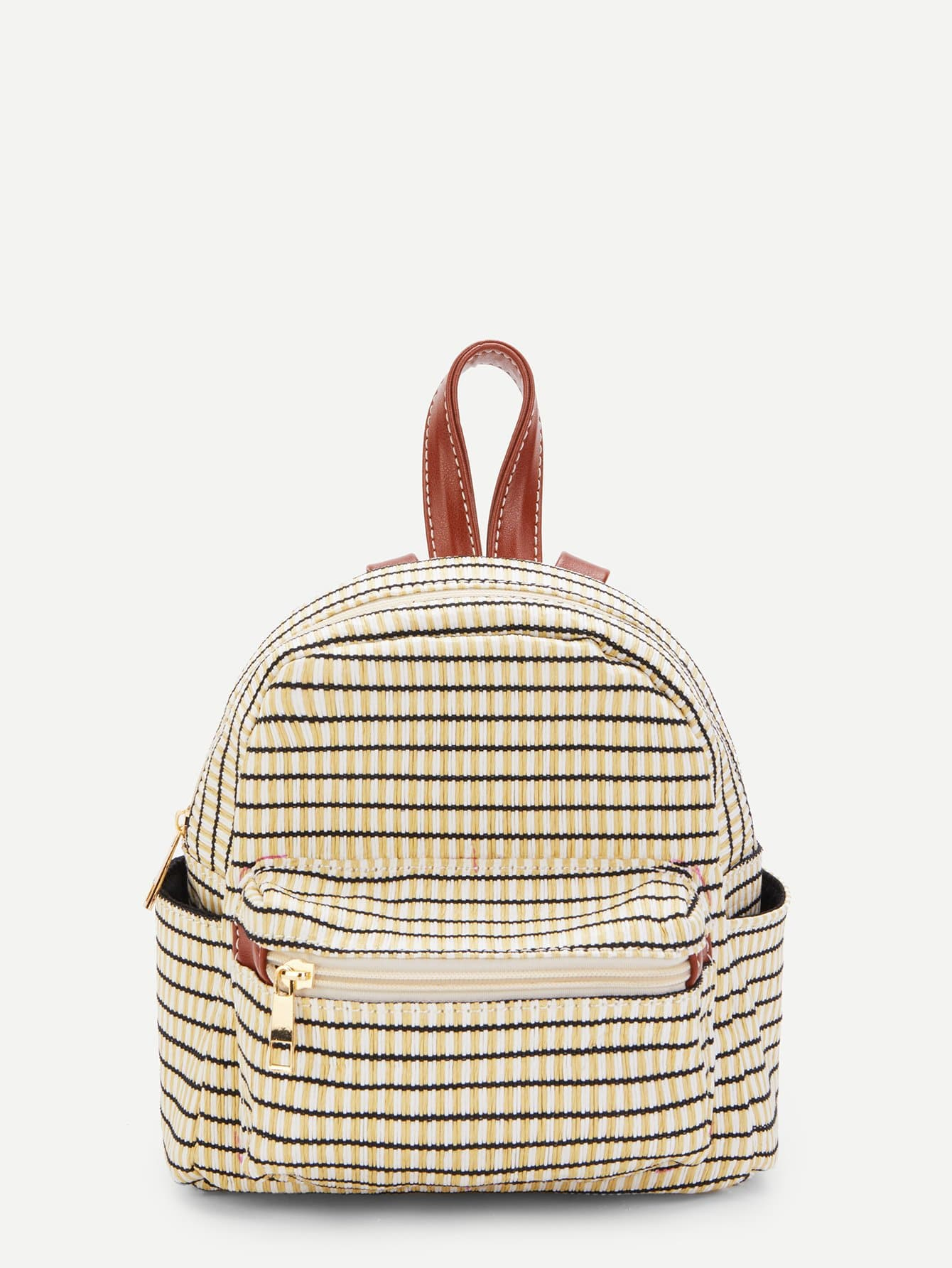Striped Detail Satchel Backpack сумка the cambridge satchel