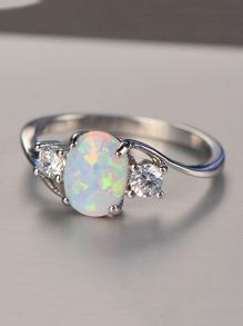 Gemstone Decorate Ring