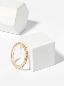 Simple Rhinestone Ring