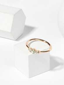 Slim Rhinestone Ring