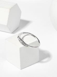Rhinestone Detail Ring