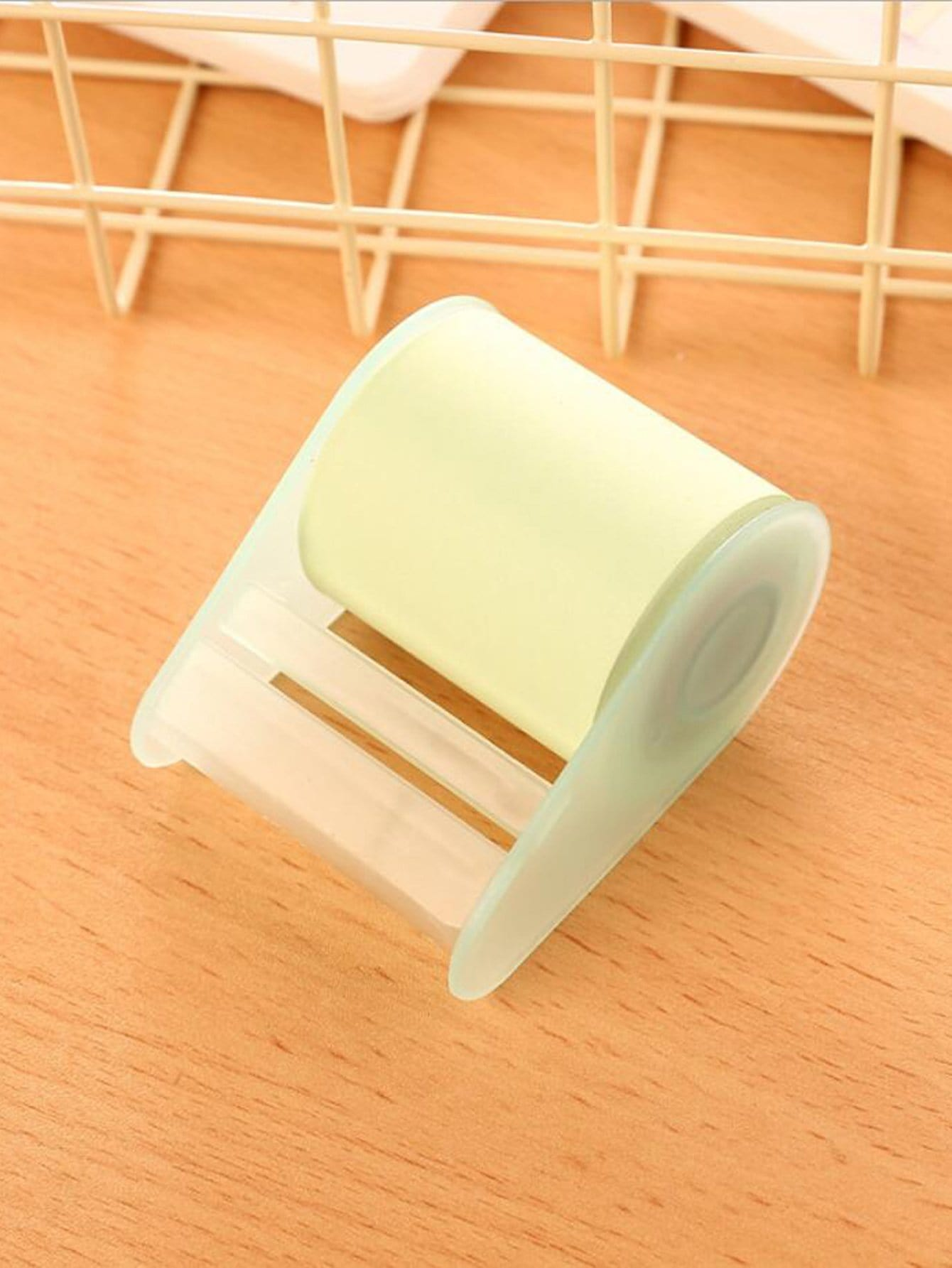 Sticky Memo Tape With Dispenser