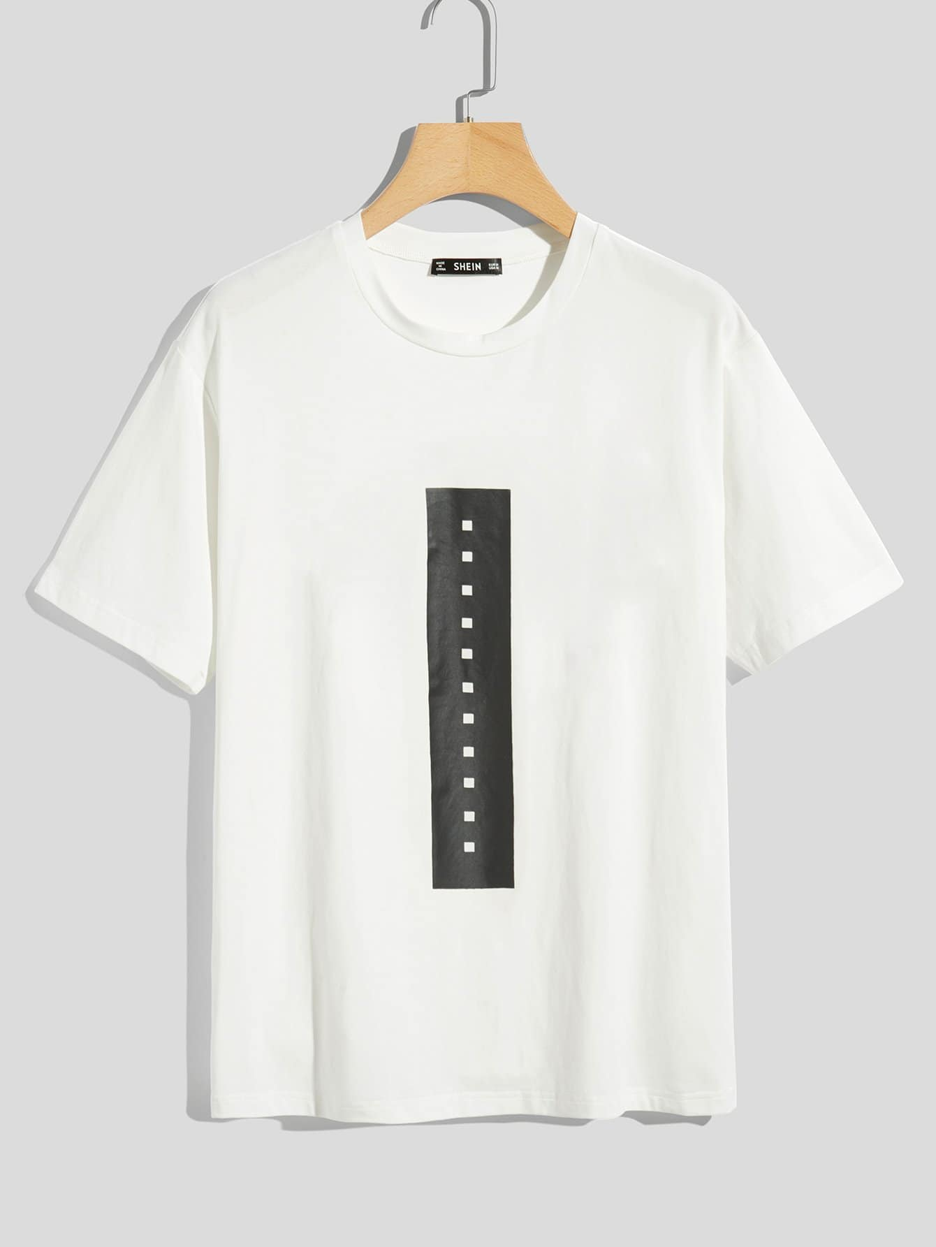 Men Short Sleeve Graphic Tee graphic letter long sleeve men tee