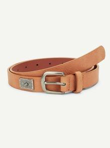 Metal Detail Belt
