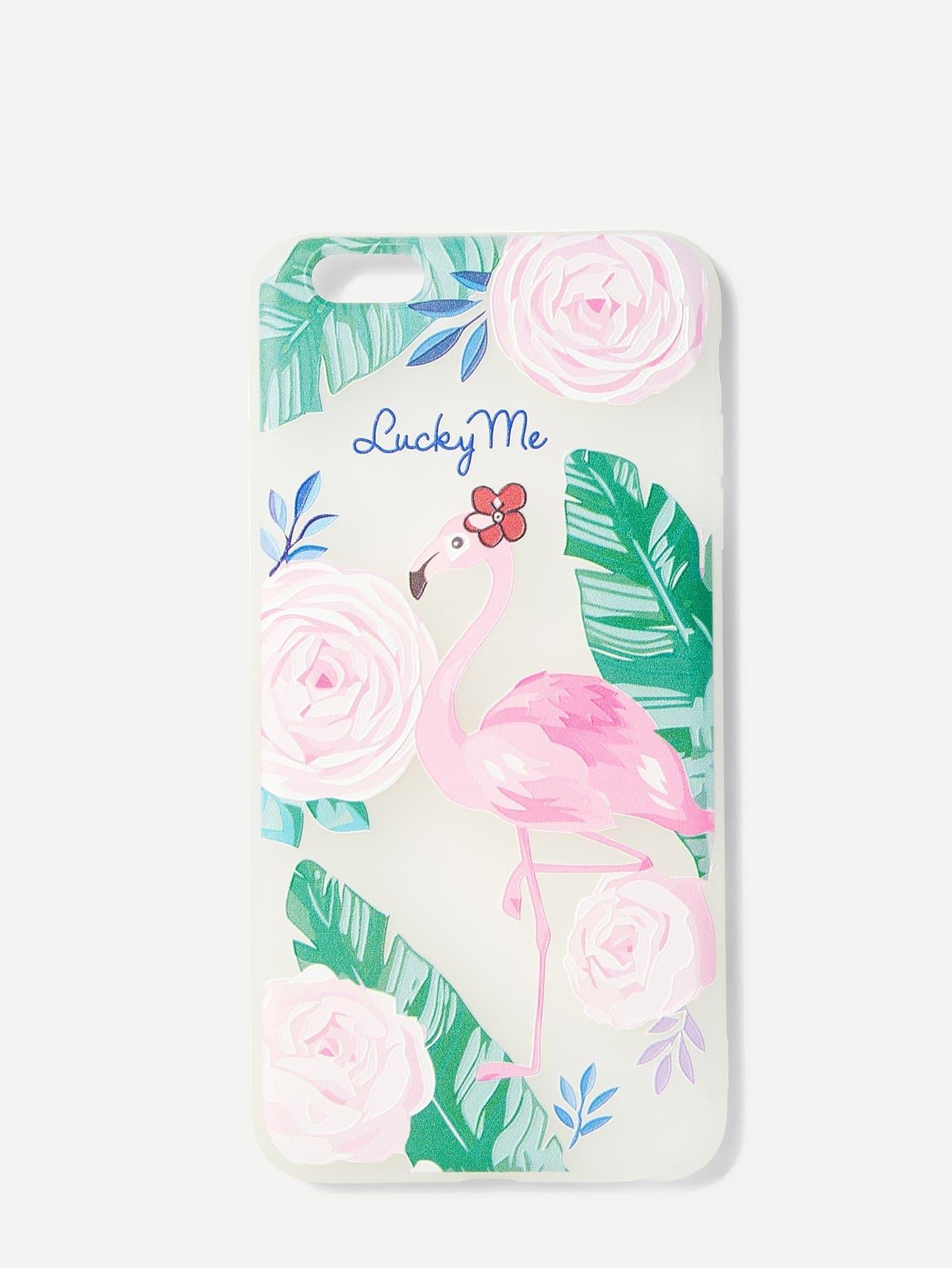 Tropical Print IPhone Case
